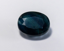 **No Reserve** 5.31ct Natural Midnight Blue Australian Sapphire