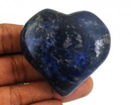 Genuine 345.00 Cts Sodalite Heart