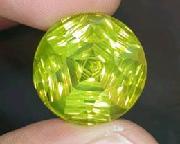 21.29 Lemon quatrz top luster.Rare stone