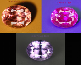 1.15 CT SAPPHIRE COLOR CHANGE GIL CERTIFIED 100% NATURAL UNHEATED
