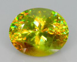 Presenting The Incredible Fire Rare 7.10 Ct Sphene Madagascar Mined !