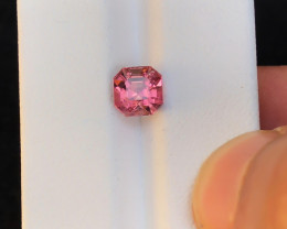 1.95 Ct Natural Pinkish Transparent Tourmaline Gemstone