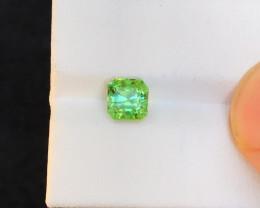 1.40 Ct Natural Green Transparent Tourmaline Gemstone