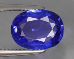 3.810 CT TANZANITE CORN FLOWER BLUE 100% NATURAL EARTH MINE TANZANIA