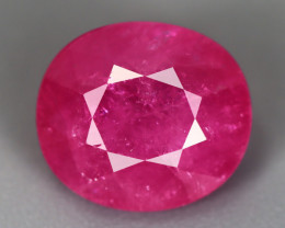 5.08 CT RUBY PINKISH RED GFCO CERTIFIED 100% ONLY HEATED MINE MOZAMBIQUE