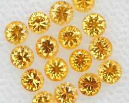 *$15NR*Apricot Orange Precision Cut Spessartite Garnet 1.35Ct