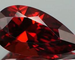 *$15NR* Orange Red garnet from Mozambique 4.42Ct