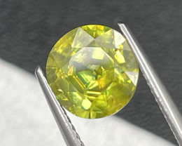 2.82 Cts Afghanistan Fine Quality Amazing Fire Natural Sphene