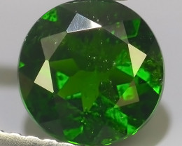 1.30 CTS NATURAL CHROME DIOPSIDE TOP GREEN  ROUND COLLECTION PARCEL