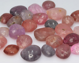 100.70 Cts Natural Spinels Multicolr Polished Tumbled Lot