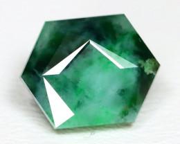 Jadeite Jade 3.67Ct Master Cut Natural Burmese Green Jadeite Jade ET151