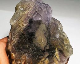 Amazing Damage free Natural color gemmy quality Fluorite Specimen 1850Cts-P