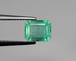 Top 2.33 Carats Natural Emerald from Afghanistan