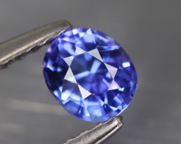 0.535Cts Tanzanite IF Top Luster Blue Color Natural Earth Mine
