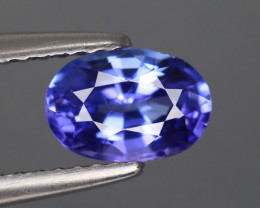 1.085 Cts Tanzanite IF Top Luster Blue Color Natural Earth Mine