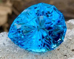 67.80 carat Natural precision Cut Natural Sky blue topaz.