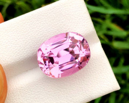 14.50 Carats Pink Color Kunzite Gemstone