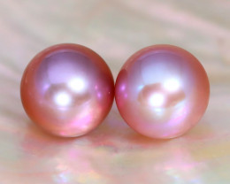 7.8mm 6.77Ct Natural Australian South Sea Purple Color Pearl A2937