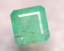 Emerald 3.02Ct Natural Zambia Green Emerald E0308/A38