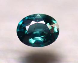 Unheated Sapphire 0.75Ct Natural Peacock Sapphire E0316/B9