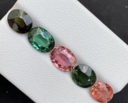Top Grade 7.82 Carats  Natural Tourmaline Gemstones beautiful parcel