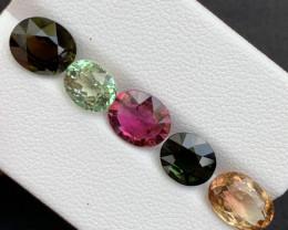 Top Grade 8.10 Carats Natural Tourmaline Gemstones beautiful parcel