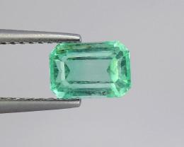 Top 1.31 Carats Natural Emerald from Afghanistan Panjsher