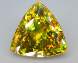 Sphene 11.20 ct AAA Brilliance and Spectrum of Colors Sku-82