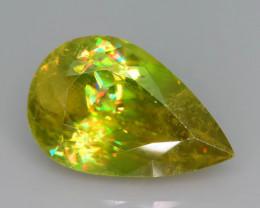 Sphene Rare AAA Multi Color Fire 4.30 ct Sphene~KS