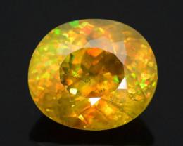 Presenting World Rare Multi Color Fire 5.50 ct Sphene ~ KS