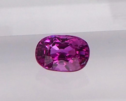 Natural unheated pink sapphire
