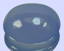 ~AAA~ 26.14 Cts Natural Lavender Chalcedony Oval Cabochon Turkey