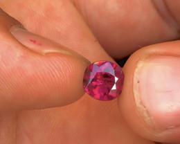 Top Grade 1.65 ct  Grap Garnet Ring Size
