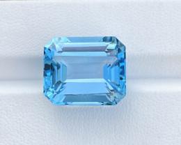 Natural Blue Topaz 27.97 Cts  Nice Color Gemstone