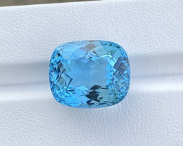 Natural Blue Topaz 29.53 Cts Nice  Color Gemstone
