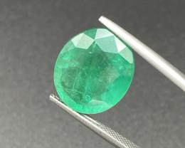 Natural Natural Emerald 11.49 Cts Nice Color Gemstone