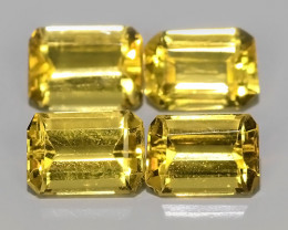 3.20 CTS AWESOME NATURAL OCTAGON CUT GOLD~YELLOW BERYL GEM!!