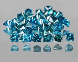 Blue Diamond 0.21 Cts Sparkling Fancy Intense Blue Natural