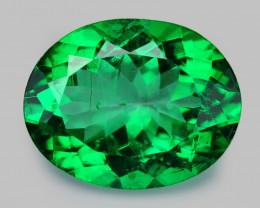 Beryl 4.03 Cts Rare Green Color Natural Gemstone