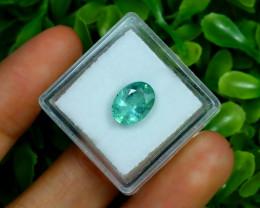 Zambian Emerald 2.24Ct Oval Cut Natural Green Color Emerald B3011