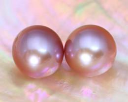 7.9mm 7.05Ct Natural Australian South Sea Purple Color Pearl B3021