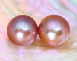 10.0mm 14.37Ct Natural Australian South Sea Purple Color Pearl B3035