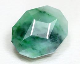 Jadeite Jade 4.16Ct Master Cut Natural Green Jodeite Jade ET225