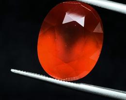 10.75 carats, Natural Hessonite Garnet.
