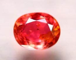 Tourmaline 1.23Ct Natural  Reddish Orange  Color Tourmaline D0420/B49