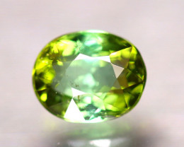 Tourmaline 1.07Ct Natural Green Color Tourmaline D0421/B49