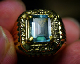 40.75 CT Natural Octagon Light Blue Aquamarine Jewelry