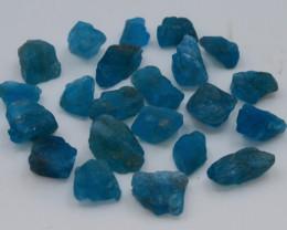 103.10 Ct Natural Blue Color  Apatite Rough