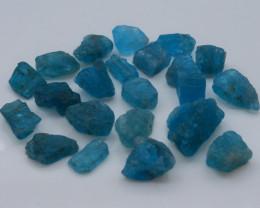 91.45 Ct Natural Blue Color Apatite Rough