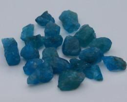 102.10 Ct Natural Blue Color Apatite Rough